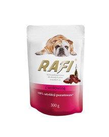 Rafi z wołowiną mokra karma dla psa 300 g