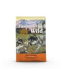 High Prairie Puppy 12,2 kg z bizonem i pieczonym jeleniem