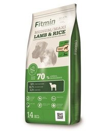 Medium Maxi lamb&rice z jagnięciną i ryżem dla psów średnich i dużych 14 kg