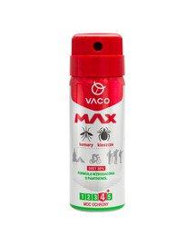 VACO Spray MAX na komary, kleszcze, meszki z PANTHENOLEM 50 ml