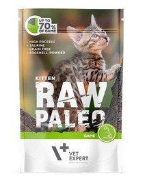 RAW PALEO Kitten game 100 g mokra karma dla kociąt dziczyzna