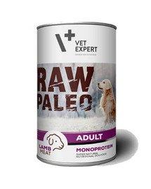 RAW PALEO Adult lamb 400 g mokra karma jagnięcina