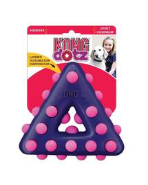 Dotz Triangle S zabawka dla psa masująca dziąsła