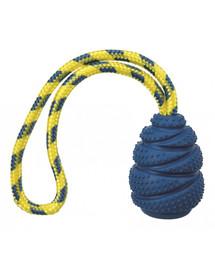 Zabawka gumowa Sporting Jumper na linie naturalny kauczuk 9 cm/30 cm