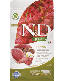 N&D Cat quinoa urinary duck 5 kg