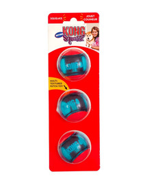 Squeezz Action Ball Red piłka dla psa S