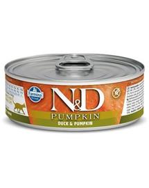 N&D Cat duck&pumpkin 80 gr