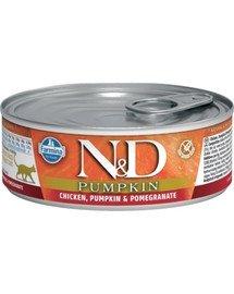 N&D Cat chicke&pumpkin 80 gr
