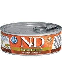 N&D Cat venison&pumpkin 80 gr