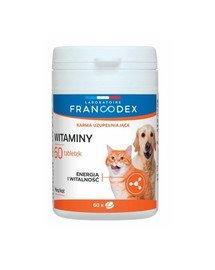 Witaminy dla psów i kotów 60 tabletek