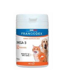 Omega-3 dla psów i kotów 60 kapsułek