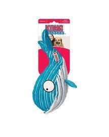 Cuteseas Whale sztruksowy wieloryb zabawka dla psa L
