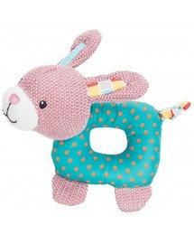 Junior królik materiałowy zabawka 16 cm
