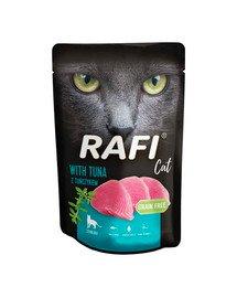 RAFI saszetka Sterilised tuńczyk 100 g dla kotów kastrowanych