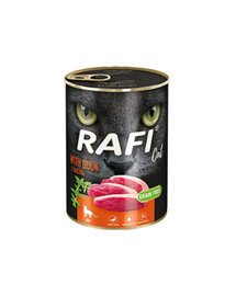 RAFI Cat adult z kaczką 400 g dla dorosłych kotów