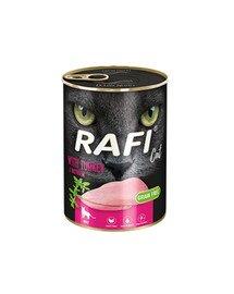 RAFI Cat adult z indykiem 400 g dla dorosłych kotów