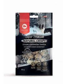 Super Premium Naturel Crispy Dziczyzna z pasternakiem 80 g
