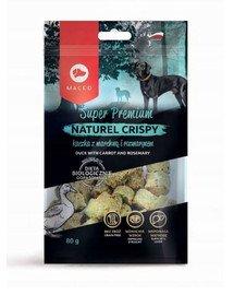 Super Premium Naturel Crispy Kaczka z marchwią i rozmarynem 80 g