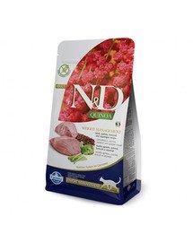 N&D Quinoa Cat weight managment jagnięcina i brokuły 5 kg
