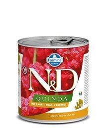 N&D Dog quinoa quail&coconut 285 gr