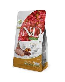 N&D Quinoa Cat skin&coat quail 5 KG