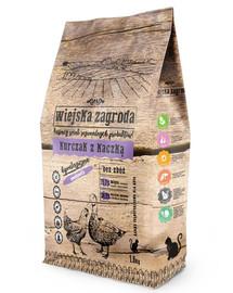 Karma kurczak z kaczką dla kota 1.6 kg