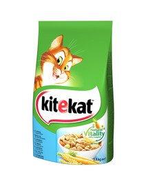 Biała ryba sucha karma dla kotów 1,8 kg x 6 szt.
