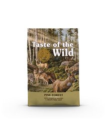 Pine Forest 5,6 z jeleniem i warzywami strączkowymi