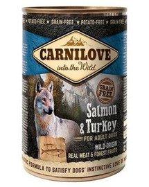 Wild Meat Salmon & Turkey łosoś i indyk 400 g