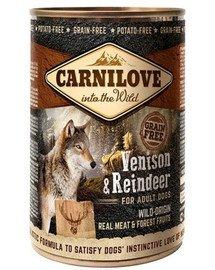 Wild Meat Vension & Reindeer dziczyzna i renifer 400 g