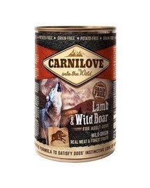 Wild Meat Lamb & Wild Boar jagnięcina i dzik 400 g