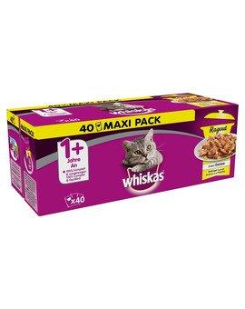 Potrawka Adult 40x85g Smaki Drobiowe - mokra karma dla kotów w galaretce (z kurczakiem, z kaczką, z drobiem, z indykiem)