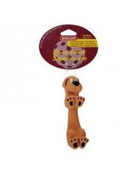 Zabawka dla psa stojący pies 13 cm