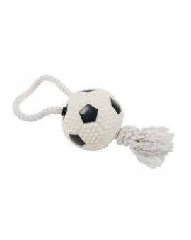Football with rope 11 cm