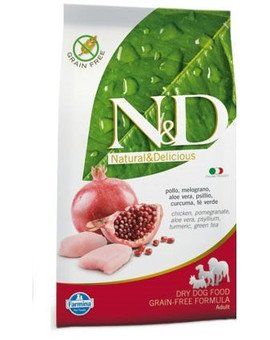 N&D chicken & pomegrante adult dog 12 kg