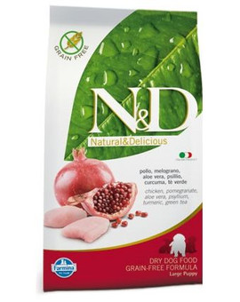 N&D chicken & pomegrante large puppy 12 kg
