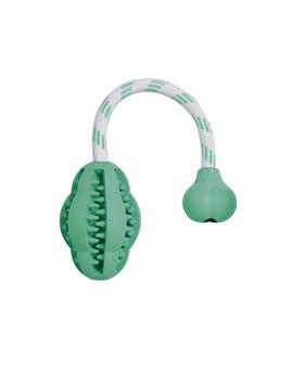Gryzak z naturalnej gumy miętowy dentafun 28 cm