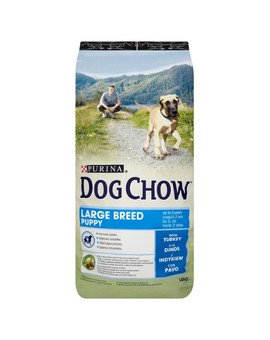 Purina dog chow puppy large breed indyk 14 kg