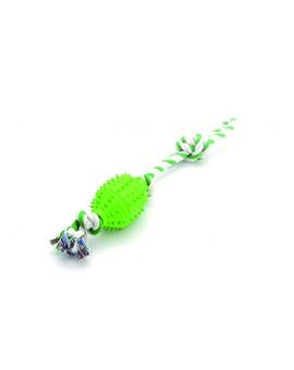 Zabawka zibi piłka na sznurku zielony 45 cm