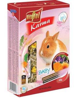 Pokarm dla królika BABY 400g