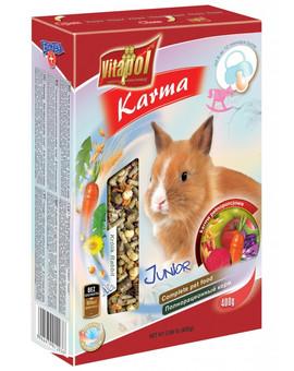 Pokarm dla młodych królików - junior 300g