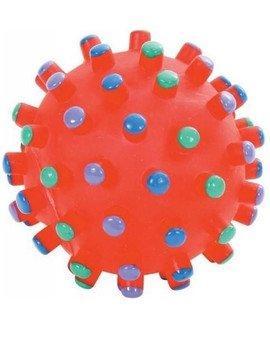 Zabawka Winylowa Piłka Z Wypustkami 9 cm