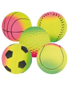 Piłki Neonowe Z Miękkiej Gumy, 15 Szt/Op. Śr. 7 cm Pływające
