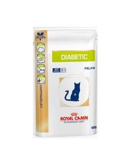Vet Cat diabetic 12 x 100 g