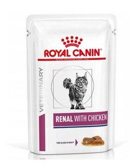 Renal Feline kurczak 12 x 85 g