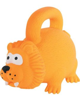 Zabawka Lateksowa Z Uchwytem 15 cm Pomarańczowa