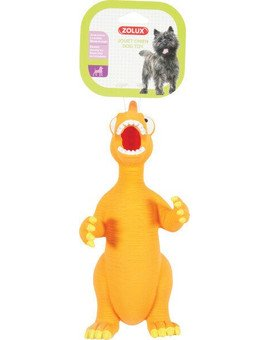 Zabawka Lateksowa Dino 24 cm Pomarańczowy