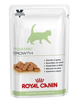 Cat pediatric growth saszetka 100 g x12