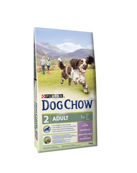 Dog Chow Adult lamb & rice 14 Kg