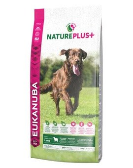 Nature Plus+ Adult Large Breed Rich in freshly frozen Lamb 2,3 kg